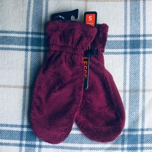 LL Bean luxe fleece mittens